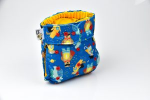ONE SIZE POCKET DIAPER - SUPERHEROES
